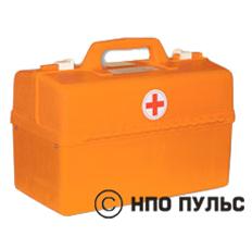 Комплект медицинский для оказания первой помощи пострадавшим при пожаре в образовательных учреждениях (пластиковый саквояж)