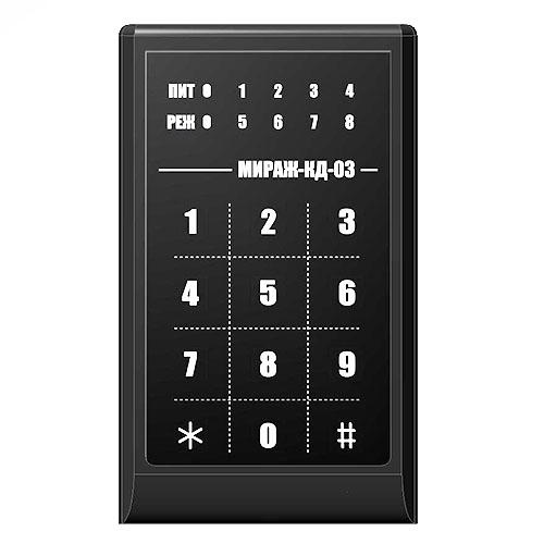 Сенсорная кодовая панель для постановки и снятия объекта с охраны