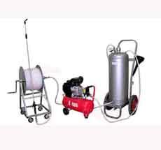 Установка УНВС-1 для нанесения водных огнебиозащитных составов