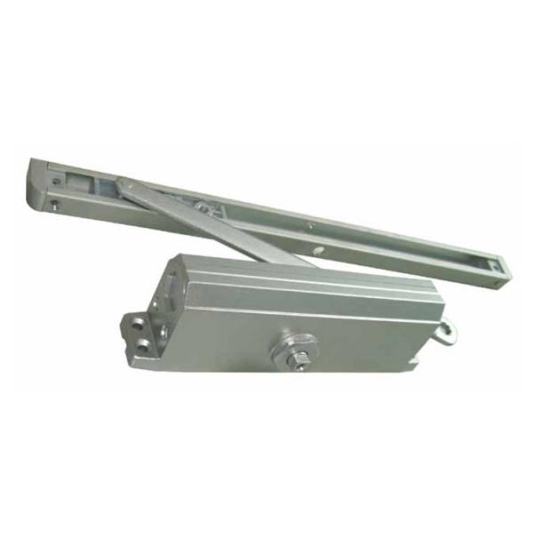 Доводчик для дверей весом не более 120 кг с фиксацией открытого положения