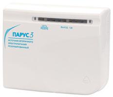 ПАРУС-3 источник вторичного электропитания 12В, 400мА, акб 1,2Ач
