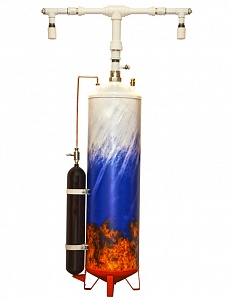 Модуль пожаротушения тонкораспыленной водой ТРВ-Гарант-160-10