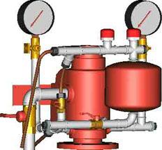 Узел управления спринклерный водозаполненный прямоточный УУ-С100/1,6В-ВФ.04 исп.01 с камерой задержки