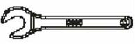 Ключ спринклерный Viking 10896 W/B
