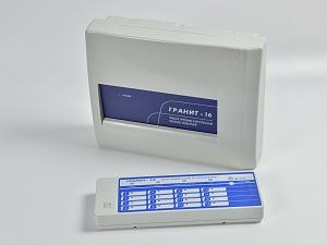 Гранит -16 (c ВП) 16 зон 4ПЦН ТМ под акк.7 Ач,выносная панель