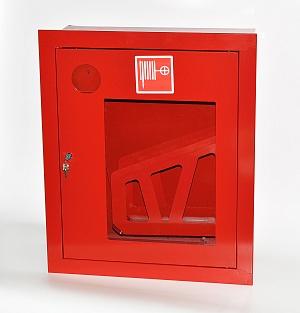 Шкаф пожарный Пульс ШПК-310ВОК (встраиваемый открытый красный)