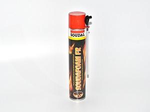 Пена монтажная огнестойкая ручная Soudafoam FR (750 мл)