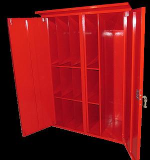 Шкаф для пожарного поста двустворчатый (1000х1300х500мм)