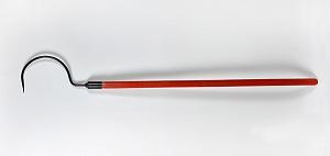 Крюк пожарный с деревянной ручкой