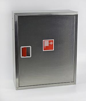 Шкаф пожарный из нержавеющей стали ШПК-310НЗ (навесной закрытый)