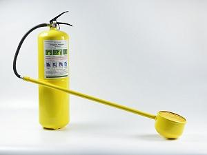 Огнетушитель порошковый специальный (D) ОПС-10