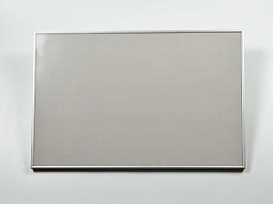 Рамка серебряная алюминиевая с оргстеклом (под план 60х40 см)