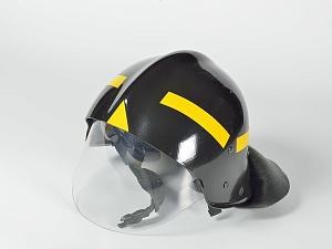 Каска пожарного КП-2002 (черная)