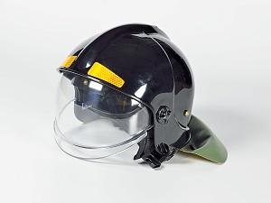 Шлем пожарного ШПМ-С (черный)