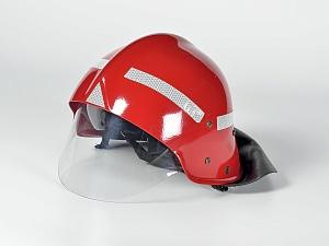 Каска пожарного КП-2002 (красная)