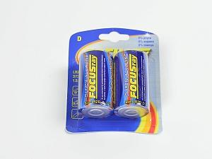 Элемент питания Focusray LR20 Super Alkaline (1,5В)