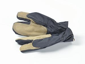 Перчатки пожарного трехпалые тканевые Номекс