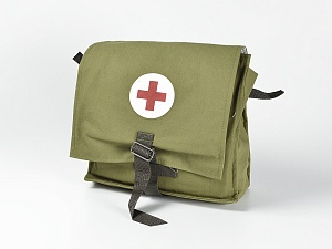 Сумка санитарная для первой помощи подразделениям сил ГО (приказ №61н, укомплектованная)