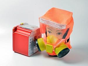 Самоспасатель УФМС ШАНС-Е усиленный (35 мин.) с футляром-контейнером