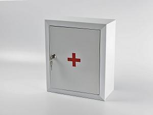 Аптечка первой помощи коллективная (на 100 чел.) по приказу №1292-РП (металлический шкаф)
