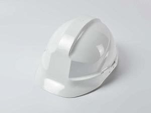 Каска защитная белая