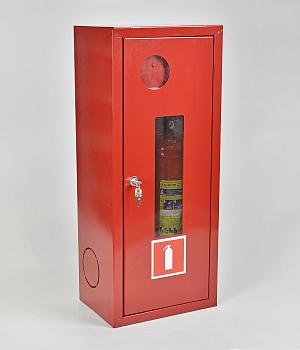 Шкаф для огнетушителя ШПО-103НОК (навесной открытый красный)