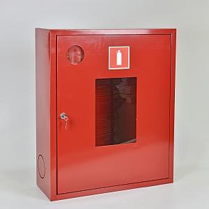 Шкаф для огнетушителя ШПО-113НОК (навесной открытый красный)