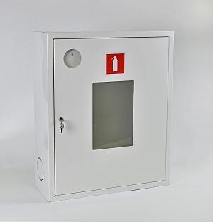 Шкаф для огнетушителя ШПО-113НОБ (навесной открытый белый)