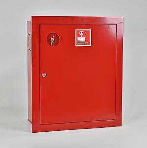 Шкаф пожарный ШПК-310ВЗК (встраиваемый закрытый красный)