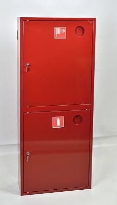 Шкаф пожарный Пульс ШПК-320НЗК (навесной закрытый красный)