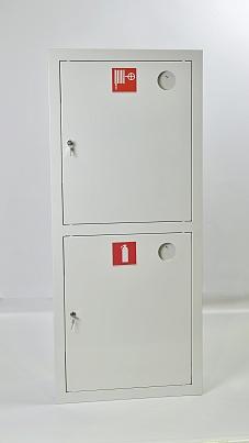 Шкаф пожарный Пульс ШПК-320ВЗБ (встраиваемый закрытый белый)