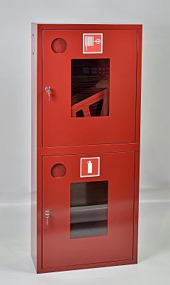 Шкаф пожарный ШПК-320НОК (навесной открытый красный)