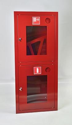 Шкаф пожарный Пульс ШПК-320ВОК (встраиваемый открытый красный)
