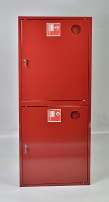 Шкаф пожарный ШПК-320-21НЗК (навесной закрытый красный)