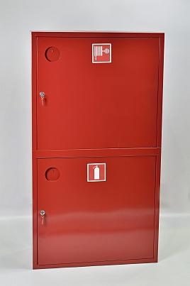 Шкаф пожарный Пульс ШПК-320-12НЗК (навесной закрытый красный)