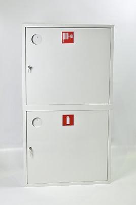 Шкаф пожарный Пульс ШПК-320-12НЗБ (навесной закрытый белый)