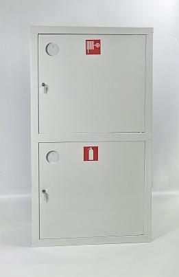 Шкаф пожарный Пульс ШПК-320-12ВЗБ (встраиваемый закрытый белый)