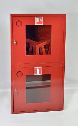 Шкаф пожарный ШПК-320-12НОК (навесной открытый красный)