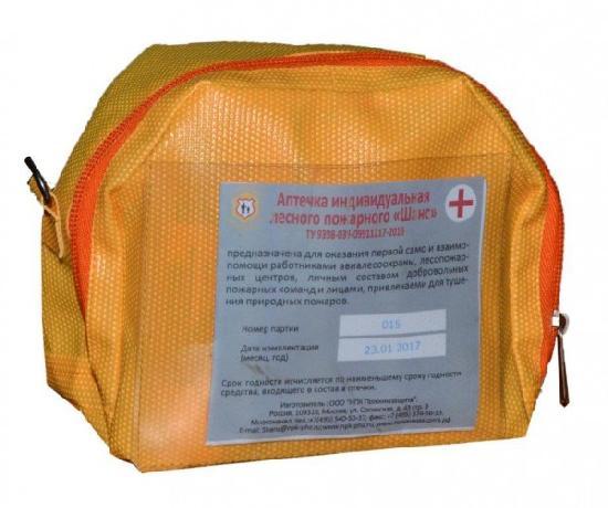 Аптечка индивидуальная лесного пожарного ШАНС