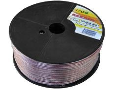 SPK102 Кабель акустический 2x1,5 мм2, диаметр 7,0 мм (за 1м)