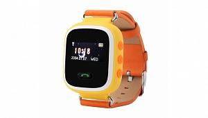 Детские GPS часы КАРКАМ Q60 (оранжевые)