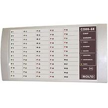 С 2000-БИ исп.01 блок индикации (контроль состояния 60 разделов, внешнее питание 12-24В)