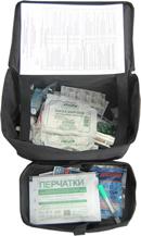 Аптечка первой помощи для перевозки опасных грузов (сумка)