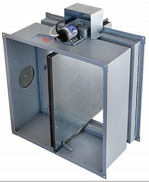 Клапан огнезадерживающий КЛОП-1 (250х250 мм)